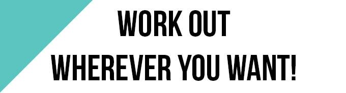 trainiere überall