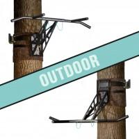 Mobile Klimmzugstange und Dip-Stange für outdoor Training, über 35 Übungen, weltweit einzigartig