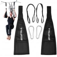 Bauchtrainingsschlaufen für Bauchmuskeltraining an Klimmzugstange und Tür Reck