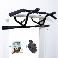 Doorway Pull-Up Bar - For The Door Frame - Includes Pull-Up Band