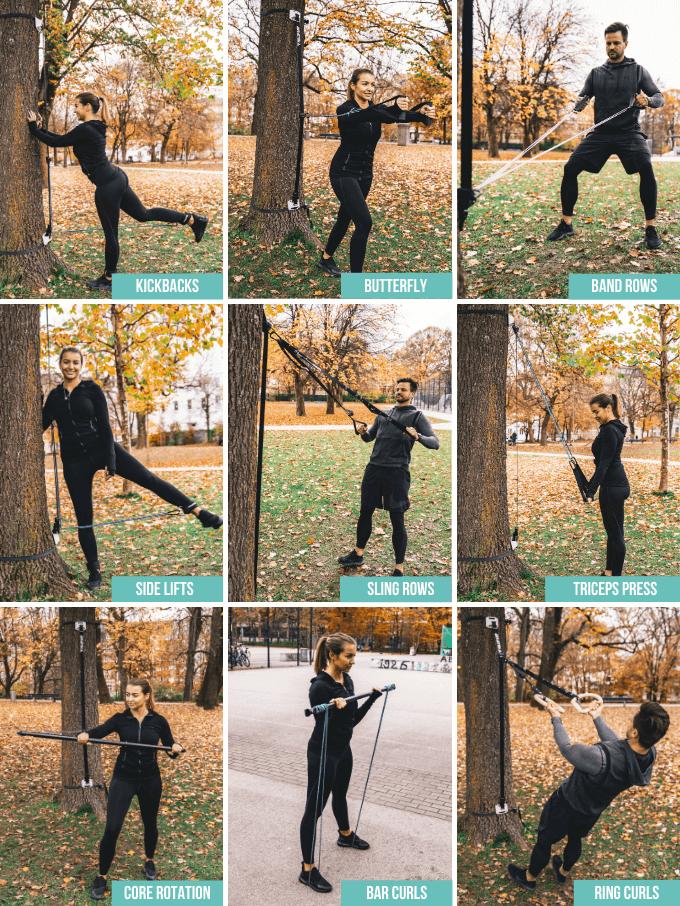 freesixd outdoor übungen